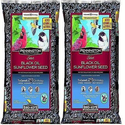 Pennington Select Black Oil Sunflower Seed Wild Bird Feed, 80 lbs