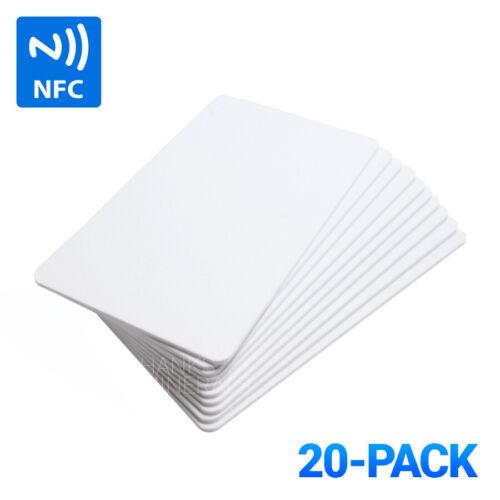 20-Pack NTAG215 Blank NFC Cards Tags NTAG 215 TagMo Amiibo Compatible