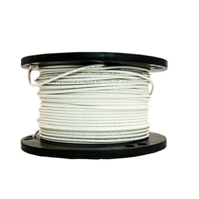 Southwire 20489145 500-ft 8 Awg Stranded White Copper Thhn Wire By-roll New Fsh