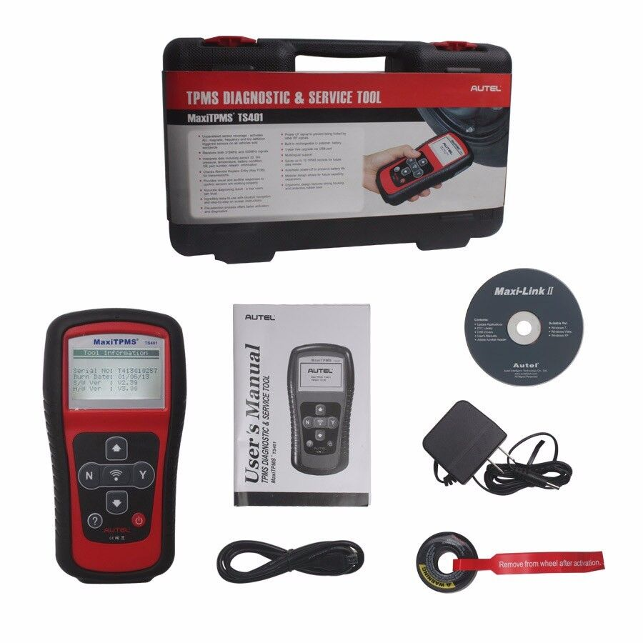 Autel Ts401 Maxitpms Activate And Decode Tool Ebay