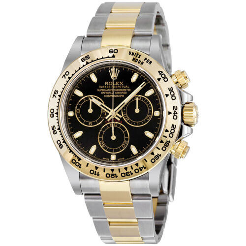 $14195.99 - Rolex Cosmograph Daytona Steel and 18K Yellow Gold Oyster Mens Watch 116503BKSO