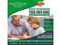 IN HOME TUTORING FOR ALL AGES