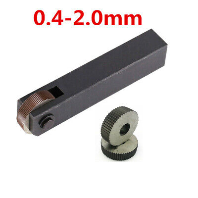 1x Straight Knurling Tool For Metal Lathe Turning Wheel Forming Fine Course