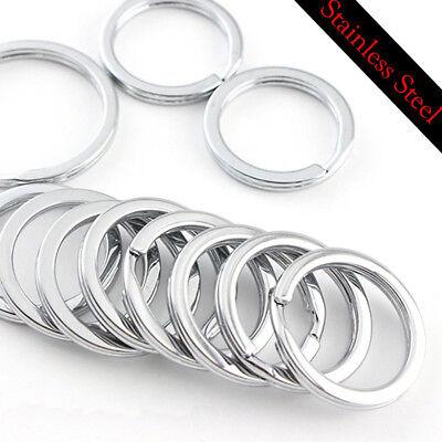 Key Rings Key Chain Split O-Rings- Dia 15MM/20MM/25MM/28MM/30MM/35MM US Chain 15 Mm Rings