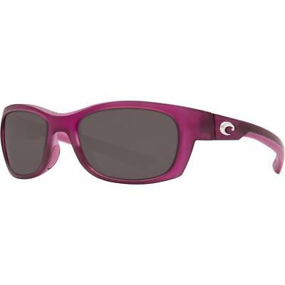 d2b46d4fc25e4 New Costa del Mar Trevally Polarized Sunglasses Matte Orchid Gray 580P 580 P