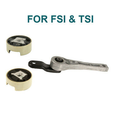 Engine Motor Mount Rear, kit set, Subframe Mounts For Audi VW FSI & TSI - New Vw Volkswagen Engine Motor