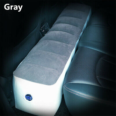 Car Rear Seat Gap Air Mattress Pad Back Seat Inflatable Air Bed Travel Camping