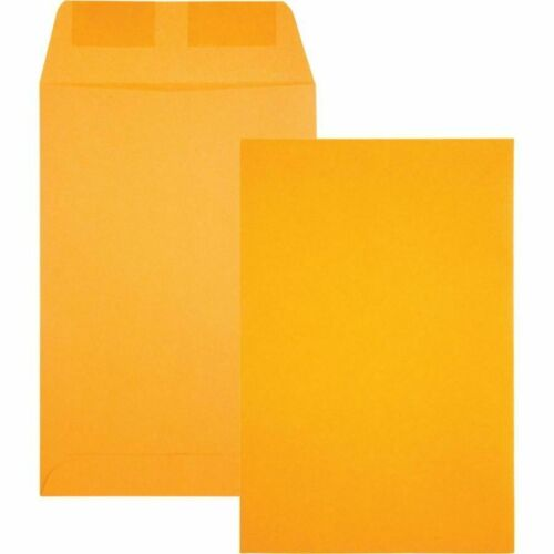 """250 x Catalog Mailing Envelopes With Gummed Closure, 6"""" x 9"""", Brown"""