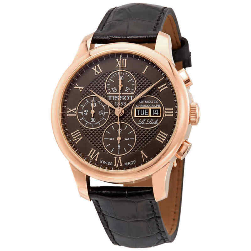 Tissot Le Locle Valjoux Chronograph Automatic Men Watch T006.414.36.443.00