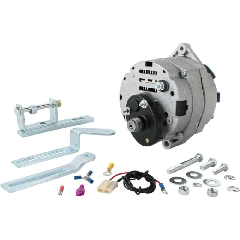 NEW GENERATOR ALTERNATOR KIT FORD TRACTOR 2000 3000 4000 5000 7000 C7NN-10000-D