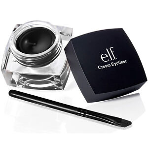 E.L.F. CREAM EYELINER BLACK #81160 Eye Liner Gel Smudge-Proof Makeup Noir ELF