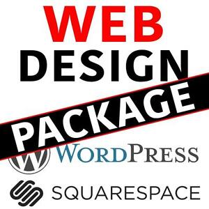 Website Design Package! Mobile Ready, Up To 10 Pages 1-866-283-6345