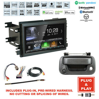 Plug In Kenwood CarPlay Stereo Radio+Backup Camera for 04-08 Ford F-150 Truck