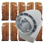 *TIP*  500 x LED spot Vento Philips wit