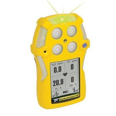 Bw Technologies Honeywell Gasalert Quattro 4-gas Monitor Qt-xwhm-a-y-na