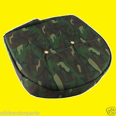 Universal Mower Farm Tractor Cushion Seat Cover Camo Camouflage T295cam