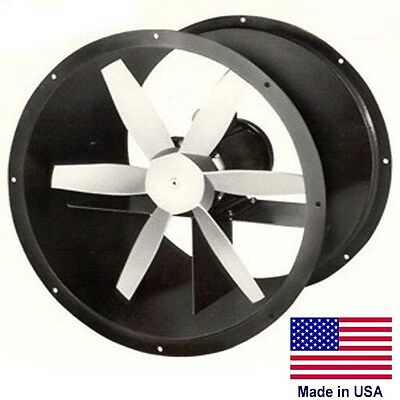 36 Explosion Proof Exhaust Fan 3 Ph 2 Hp 1140 Rpm 17620 Cfm 230460 6 Blade