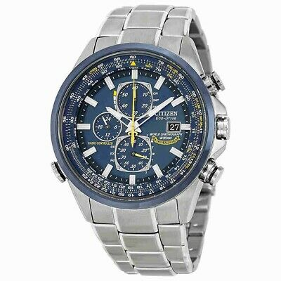 NEW Citizen Blue Angels Men's Chronograph Eco Drive Watch - AT8020-54L