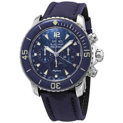 Blancpain Fifty Fathoms Chronograph Moonphase Automatic Men's Watch