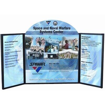 Voyager Maxi Trade Show Briefcase Presentation Display Board