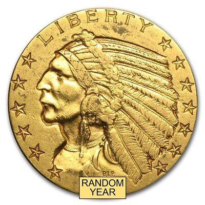 $5 Indian Gold Half Eagle XF (Random Year) - SKU #168070