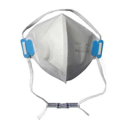 5x FFP3 Atemschutzmaske mit Ventil Mund Nase Maske - JFM04V # 3381