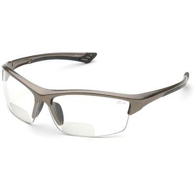 Elvex Sonoma Rx-350c Bifocal Safety Glasses Clear Anti-fog Lens Z87 1.0-3.0