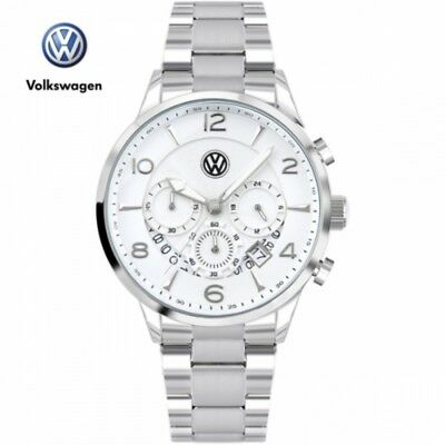 2017 VOLKSWAGEN Watch Authentic Men VW1425M-WH Waterproof Japan Stainless steel
