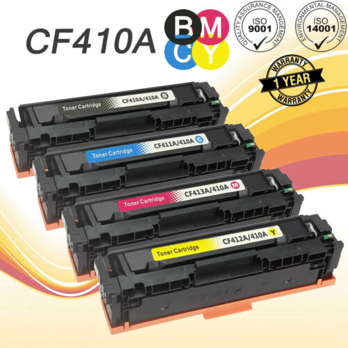 8 PK CF410A 410A Black Toner Cartridge for HP Color LaserJet Pro M452dn M452dw