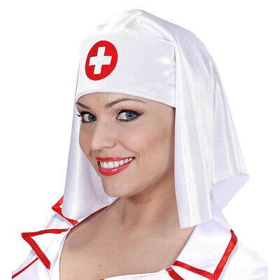KRANKENSCHWESTER KOPFBEDECKUNG # Karneval Fasching Party Kostüm Hut Mütze # - Krankenschwestern Hut Kostüm