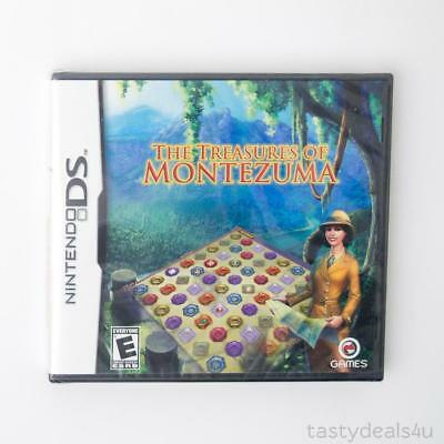 The Treasures of Montezuma Nintendo DS