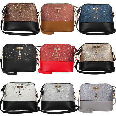 Women Ladies Crossbody Leather Shoulder Bag Tote Purse Handbag Messenger Satchel - Small Totes