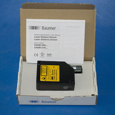 New Baumer Oadm 20i6460s14f Laser Distance Sensor Beam Point 620-680nm Oadm 20