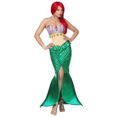 MEERJUNGFRAU DAMEN KOSTÜM # Karneval Wassernixe Nixen Sirene - Wasser Frau Kostüm