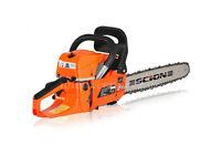 Scion 5200 Chainsaw, Petrol 2 Stroke, Very Sharp Blade 52cc Powerful 18 Inch