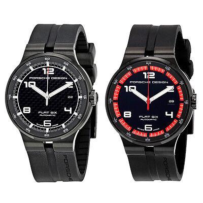 Porsche Design Flat Six Automatic Sports Mens Watch