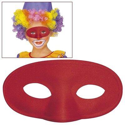 ROTE KINDER AUGENMASKE Karneval Venedig Maskenball Clown Kostüm Party Maske - Maskenball Kostüm Kinder