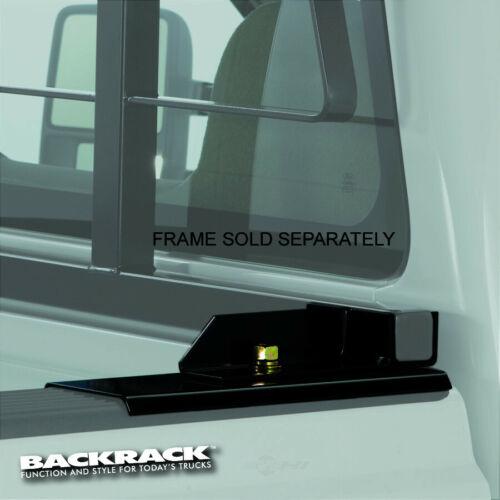 Drill-Less Standard NEW Backrack 30109 Black Headache Rack Mounting Kit