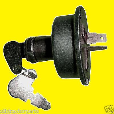 Massey Ferguson Key Switch 504809m91 Diesel Only 50 135 150 165 175 180 230 235