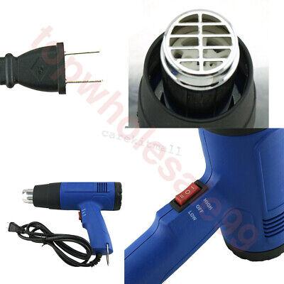 Heat Gun Hot Air Gun Dual Temperature 4 Nozzles Power Tool 1500w 300500 Ups