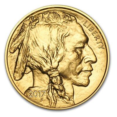 SPECIAL PRICE! 2017 1 oz Gold Buffalo Coin Brilliant Uncirculated - SKU #118011