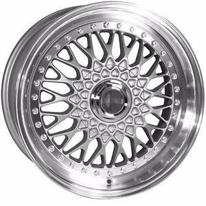 """15"""" BBS RS Style Wheels & Tyre (BMW E30,Honda Civic,Renault Clio) Ferntree Gully Knox Area Preview"""