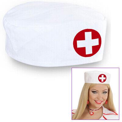 DOKTOR HUT Krankenschwester Arzt Kostüm Kopfbedeckung Mütze Karneval Party - Krankenschwestern Hut Kostüm