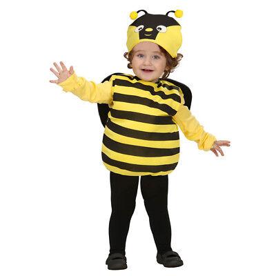 Biene Mädchen Kostüm (BIENE KOSTÜM HUT KINDER Karneval Fasching Tier Puffy Jungen Mädchen Party # 1891)