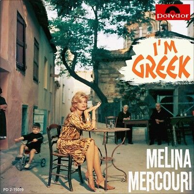 "7"" MELINA MERCOURI I'm Greek / The Puerto Rican JOE DASSIN Éntekhno POLYDOR 1970"
