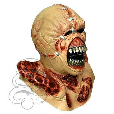 Berühmte Kostüm (Halloween Latex Horror berühmt Film NEMESIS RESIDENT EVIL KOSTÜM VERKLEIDUNG)