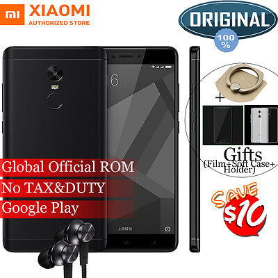 Xiaomi Redmi Note 4X Pro Snapdragon 625 Android 6 Dual Sim Smartphone 5 5  32Gb