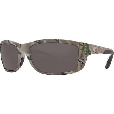 4525db065c4c1 New Costa Del Mar Zane Polarized Sunglasses 580G Glass Realtree AP Camo Grey