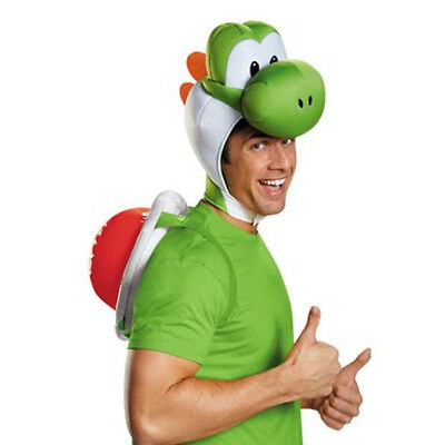 Yoshi Erwachsene Kostüm Satz Super Mario Bros Nintendo Kinder Hülle