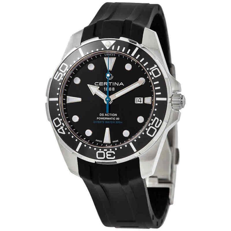 Certina DS Action Diver Automatic Black Dial Men Watch C032.407.17.051.60